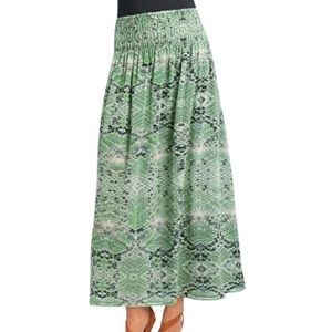 CAbi #764 Darby reversible skirt S